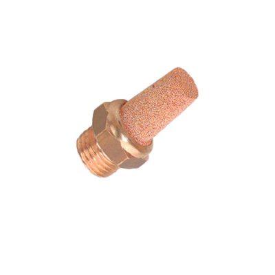 Silencieux embase en laiton-mâle 1:2-Réf-4SE